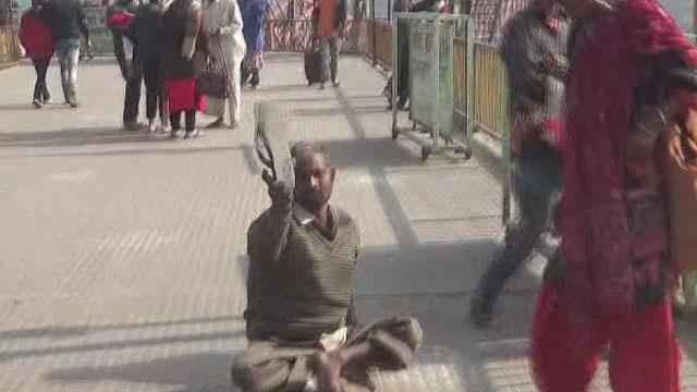 beggars in haridwar