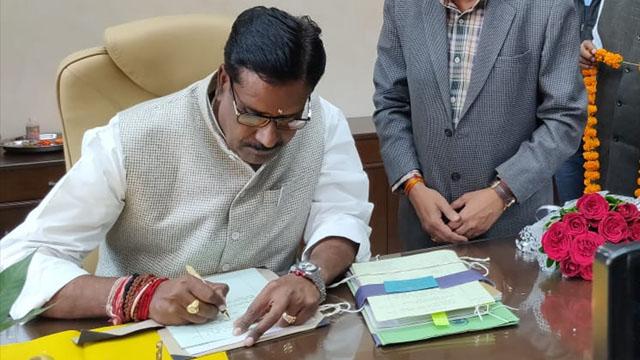 mp minister harsh yadav
