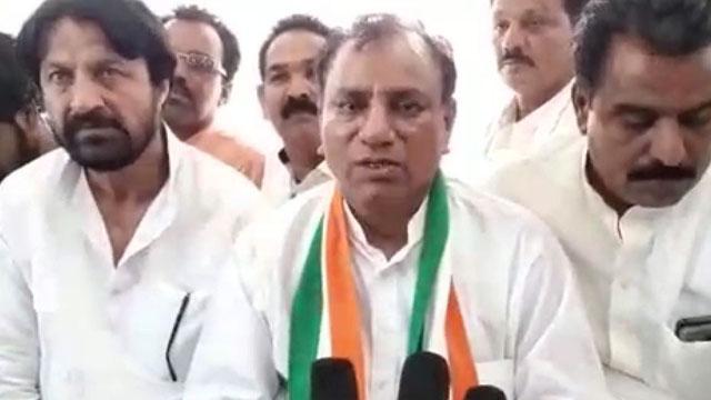 Congress Candidate Babulal Malviya