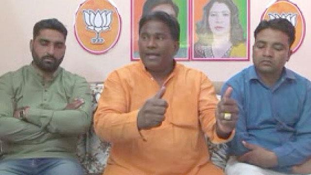 Jhabrera BJP MLA Deshraj Karnwal